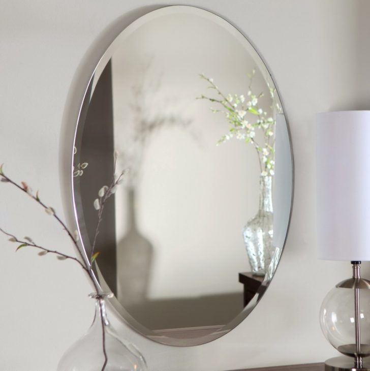 How A Frameless Mirror Can Be Used To Decorate Your Living