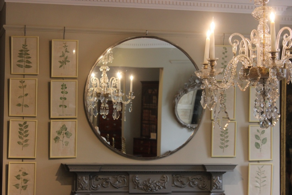 How Homes Can Be Made Spacious With Large Round Mirror Glass 4 Homes
